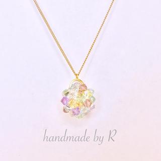 虹色スワロボールのネックレス(ネックレス)