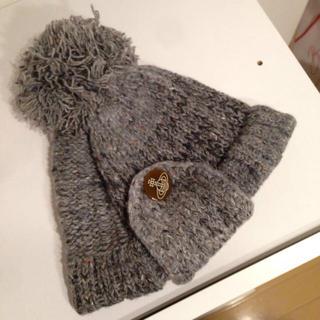ヴィヴィアンウエストウッド(Vivienne Westwood)のVivienneWestwoodニット帽(ニット帽/ビーニー)