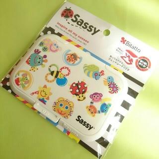 サッシー(Sassy)のSassyサッシー♥ダッドウェイ♥ビタット♥お尻拭きのフタ♥ウェットシートカバー(ベビーおしりふき)