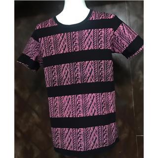 エフィレボル(.efiLevol)のefiLevol エフィレボル ニットプリント Tシャツ カットソー 1 S(Tシャツ/カットソー(半袖/袖なし))