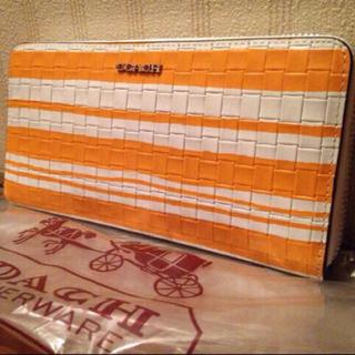コーチ(COACH)のお値下げ可!新品コーチ長財布(財布)