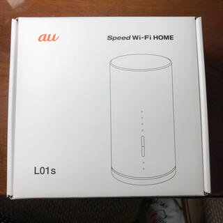 エーユー(au)のSPEED wi-fi home L01s WiMAX(その他)