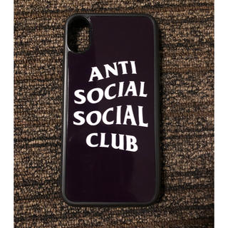 アンチ(ANTI)のANTI SOCIAL SOCIAL CLUBS iPhone X 用ケース中古(iPhoneケース)