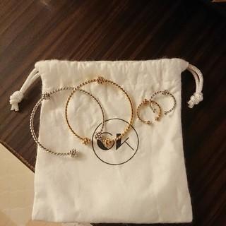 チャイキム(chaikim)のチャイキム リング&バングル 4本セット(リング(指輪))