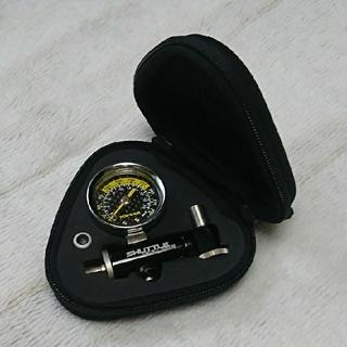 トピークshuttle gauge 空気圧計