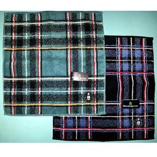 マンシングウェア(Munsingwear)のMunsingwear の タオルハンカチ 2枚組(ハンカチ/ポケットチーフ)