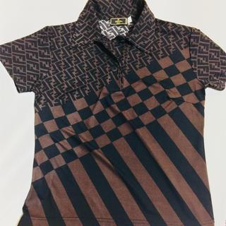 フェンディ(FENDI)のFENDI フェンディ ストレスタイプシャツ 42(ポロシャツ)