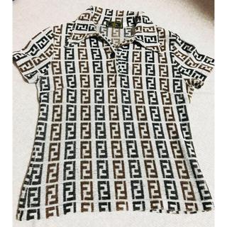 フェンディ(FENDI)のロベルト様 専用 (ズッカ柄 ポロシャツ&ズボン セットのご購入)(ポロシャツ)