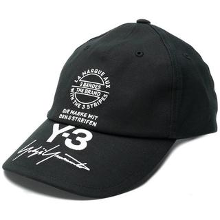 ヨウジヤマモト(Yohji Yamamoto)の【新品】Y-3 キャップ 18SS ブラック 黒 black(その他)