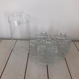 フランフラン(Francfranc)のフランフラン&無印  ガラス瓶(容器)