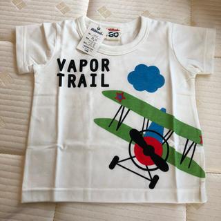 新品☆ミモール 飛行機半袖Tシャツ 80(Tシャツ)