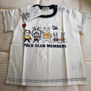 新品☆ 3can4on(サンカンシオン)半袖Tシャツ 90(Tシャツ/カットソー)