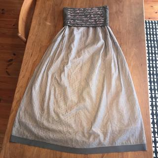 ブランバスク(blanc basque)のさらにお値下げしました!BLANC basque 2wayロングスカート(ロングワンピース/マキシワンピース)