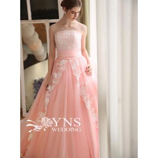 ynsweeding カラードレス パープル 紫(ウェディングドレス)