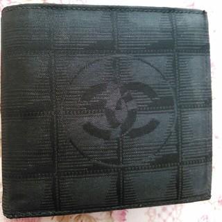 シャネル(CHANEL)の【美品】CHANELシャネル*二つ折り財布(財布)