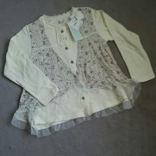 ビケット(Biquette)の重ね着風トレーナー130 biquette(値下げ)(Tシャツ/カットソー)