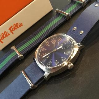 フォリフォリ(Folli Follie)のフォリフォリ ビッグフェイスウォッチ(腕時計(アナログ))