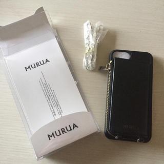 ムルーア(MURUA)のMURUA iPhone 6 携帯ケースストラップ付き(iPhoneケース)