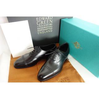 エドワードグリーン(EDWARD GREEN)の新品 国内正規店購入 EDWARD GREEN BERKELEY 黒 定価17万(ドレス/ビジネス)