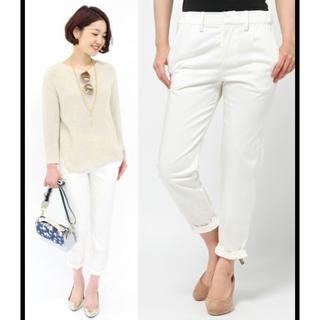 ラウンジドレス(Loungedress)のLoungedress 裾ねじりパンツ(クロップドパンツ)