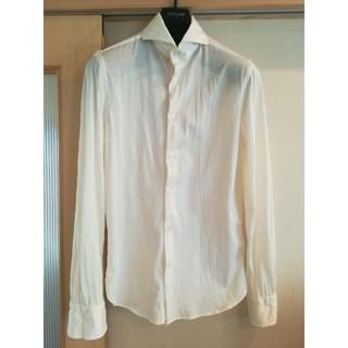 ギローバー(GUY ROVER)のジャージーシャツ オフホワイト(シャツ)