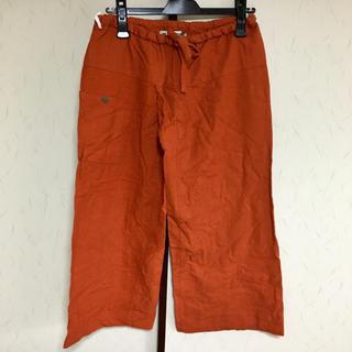 マライカ(MALAIKA)のMALAIKA アジアンパンツ オレンジ ハーフ パンツ メンズ(ショートパンツ)