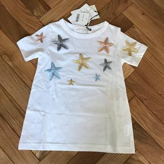 ハニーミーハニー(Honey mi Honey)のハニーミーハニー 星刺繍 Tシャツ(Tシャツ/カットソー)