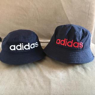 アディダス(adidas)のお揃いバケットハット(帽子)