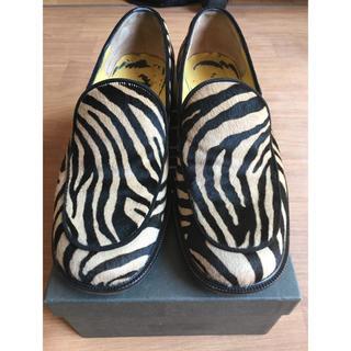 フェンディ(FENDI)の正規品❗️【フェンディ】ゼブラ柄ローファー(ローファー/革靴)
