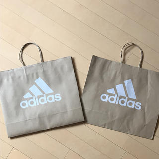 アディダス(adidas)のadidas ショップ袋 2枚入り(ショップ袋)