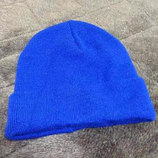 レイジブルー(RAGEBLUE)のRAGEBLUE ニット帽 ブルー(ニット帽/ビーニー)