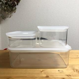 ムジルシリョウヒン(MUJI (無印良品))の無印良品 バルブ付き密開保存容器(容器)