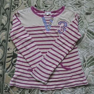サンカンシオン(3can4on)の3Can4on☆気持ち良い肌触り♪長袖Tシャツ 130(Tシャツ/カットソー)