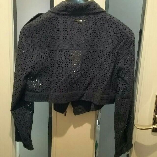 DIESEL(ディーゼル)の新品 ディーゼル ジャケット ライダース レース DIESEL レディースのジャケット/アウター(ライダースジャケット)の商品写真