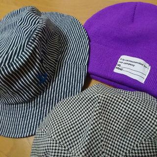 ジーユー(GU)の子供用 帽子 三点(帽子)