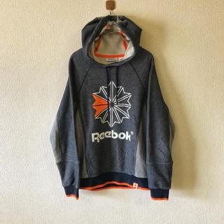 リーボック(Reebok)の【90s Reebok】リーボック パーカー M メンズ 古着 ヴィンテージ(パーカー)