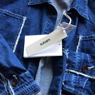 ヨウジヤマモト(Yohji Yamamoto)のsulvam サルバム18ss 今期完売 デニムジャケット M 定価50760 (Gジャン/デニムジャケット)
