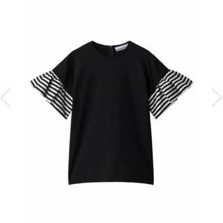 バーニーズニューヨーク(BARNEYS NEW YORK)の送料込!新品未使用 ボーダーズアットバルコニー ラッフルT 38(Tシャツ(半袖/袖なし))