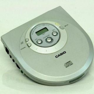 カシオ(CASIO)のカシオ CasioのポータブルCDプレーヤー PZ-J3 中古実用品付属品無し(ポータブルプレーヤー)
