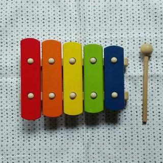 ボーネルンド(BorneLund)のPintoy  ✿  おもちゃの木琴  Basic Xylophon(楽器のおもちゃ)