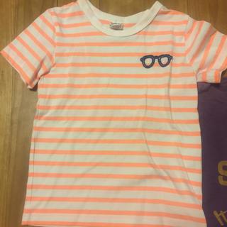 サンカンシオン(3can4on)の〈120センチ〉Tシャツ2枚セット(3can4on、ノーブランド)(Tシャツ/カットソー)
