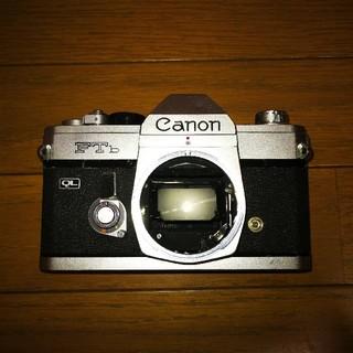 キヤノン(Canon)のCanon FTb シルバー(ジャンク)(フィルムカメラ)