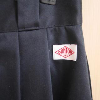 ダントン(DANTON)の <Danton> タックフレアスカート(ひざ丈スカート)