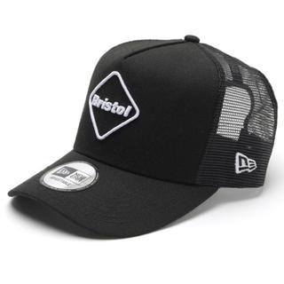 エフシーアールビー(F.C.R.B.)のブラック★FCRB × NEW ERA EMBLEM MESH CAP(キャップ)