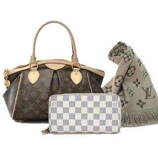 ルイヴィトン(LOUIS VUITTON)のバック、マフラー、財布(財布)