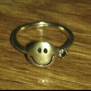 chigo チーゴ スマイル モチーフ リング 指輪 (リング(指輪))