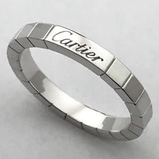 カルティエ(Cartier)の仕上済☆カルティエ☆ラニエールリング☆750WG☆58☆約17.5号☆(リング(指輪))