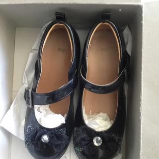 【20センチ】美品、輝くエナメルシューズ ドレスにアイマス! 💖(ローファー/革靴)