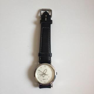 アニエスベー(agnes b.)のアニエスベー 腕時計 シルバー アナログ(腕時計)