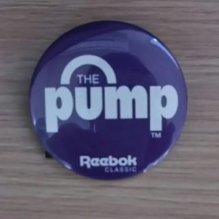 リーボック(Reebok)の非売品 リーボック ポンプシリーズ カンバッチ(その他)